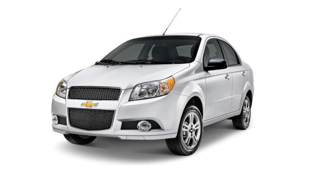 2016 Chevrolet Aveo (Mexico)