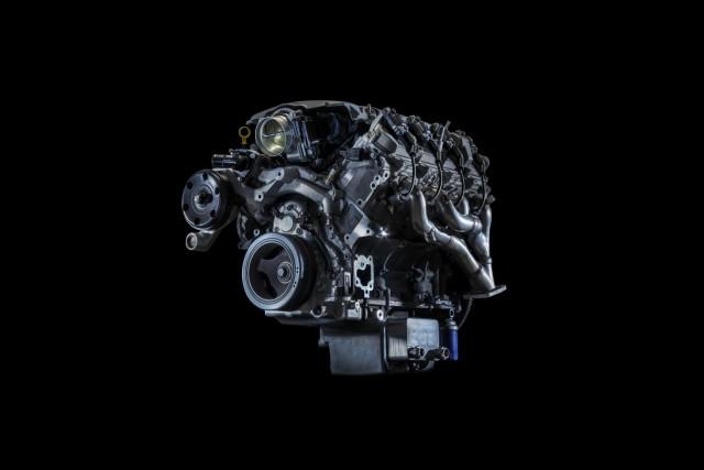 2016 Chevrolet Camaro SS's 6.2-liter LT1 V-8