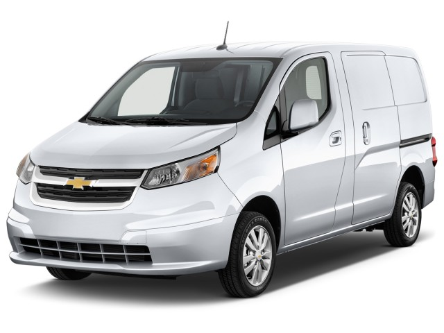 2016 Chevrolet City Express Cargo Van Fwd 115 Lt Angular Front Exterior View