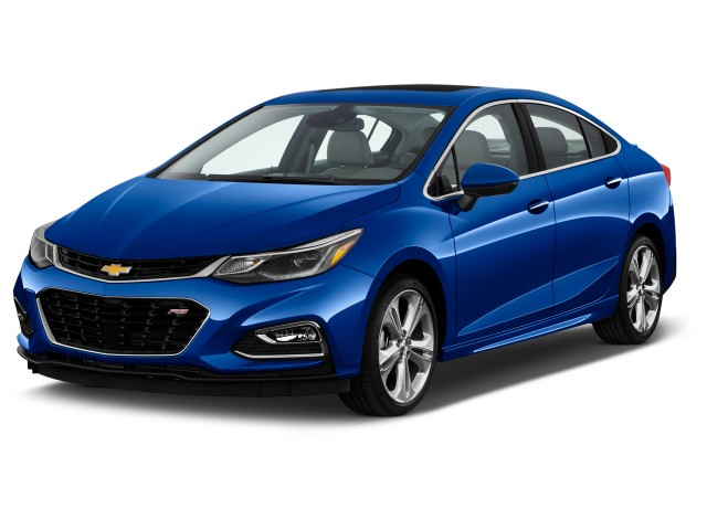 2016 Chevrolet Cruze 4-door Sedan Auto Premier Angular Front Exterior View