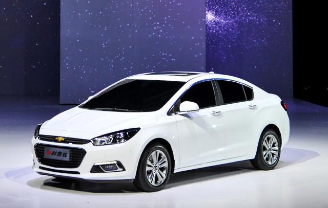 2016 Chevrolet Cruze Chinese Spec 2017 Beijing Auto Show