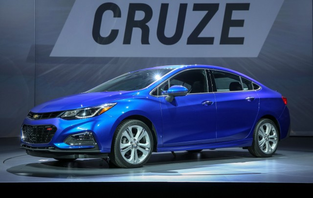 2016 Chevrolet Cruze unveiling, Detroit, June 2015