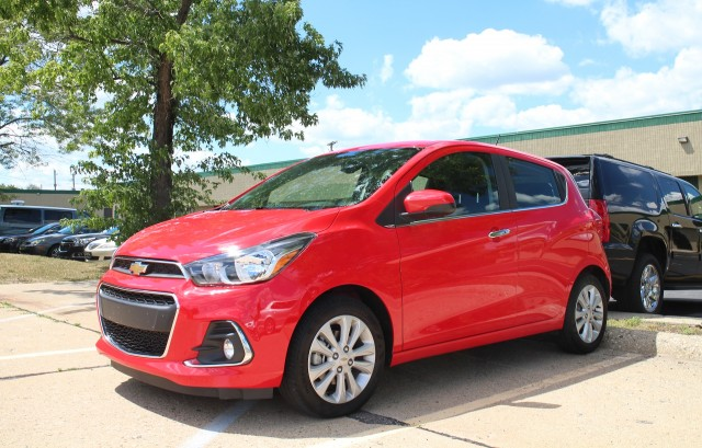 2016 Chevrolet Spark Test Drive Outside Detroit July