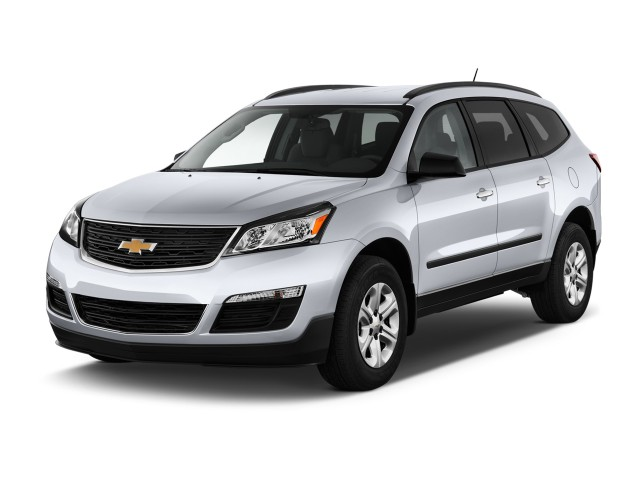 2016 Chevrolet Traverse Fwd 4 Door Ls W 1ls Angular Front Exterior View