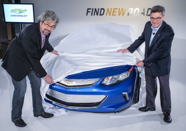 2016 Chevrolet Volt sneak peak for owners, Los Angeles, Nov 2014