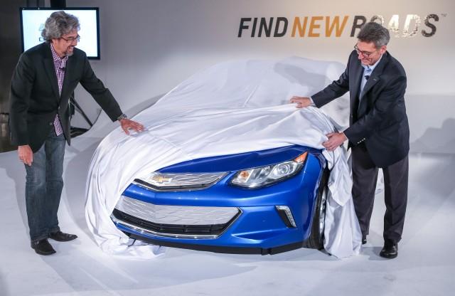 2016 Chevrolet Volt sneak peek for owners, Los Angeles, Nov 2014