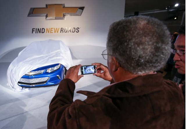 2016 Chevrolet Volt sneak peak for owners, Los Angeles, Nov 2014
