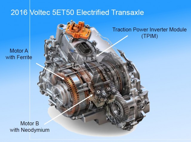 2016 Chevrolet Volt Plug In Hybrid Details Of Voltec Drivetrain From Sae Presentations