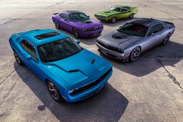 2016 Dodge Charger and Challenger Plum Crazy
