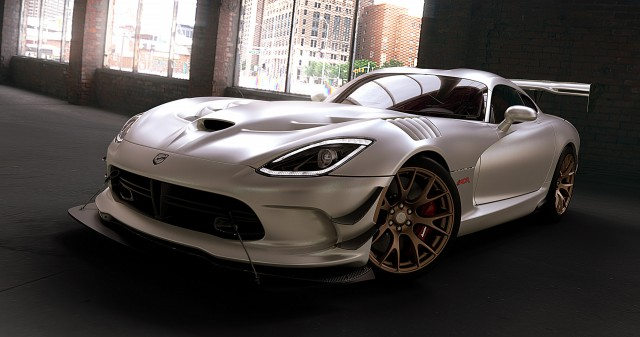 2016 Dodge Viper ACR with new matte exterior finish