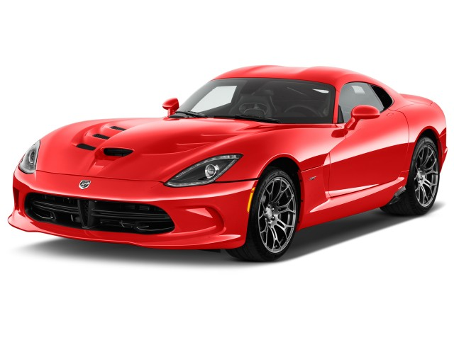 2016 Dodge Viper SRT 2-door Coupe SRT Angular Front Exterior View