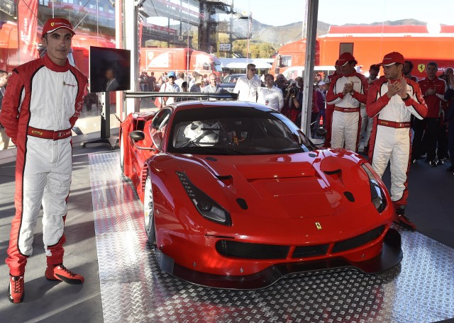 2016 Ferrari 488 GT3, 2015 Finali Mondiali