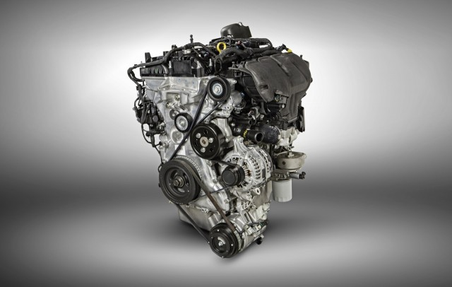 2016 Ford Explorer - 2.3-liter EcoBoost four-cylinder engine