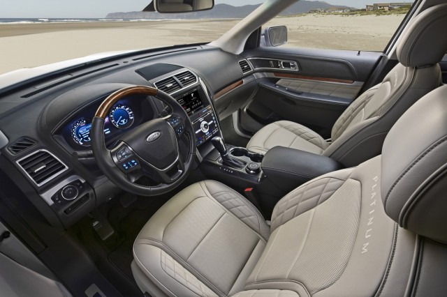 2016 Ford Explorer Preview 2014 Los Angeles Auto Show