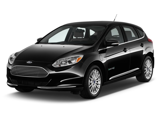 2016 Ford Focus Electric 5dr HB Angular Front Exterior View
