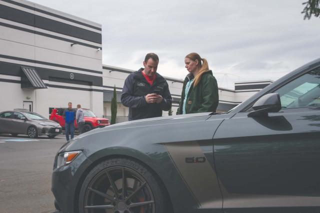 Danielle Thatcher's 2016 Ford Mustang GT