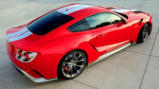 2016 Ford Mustang GTT by Zero to 60 Designs, 2016 SEMA show