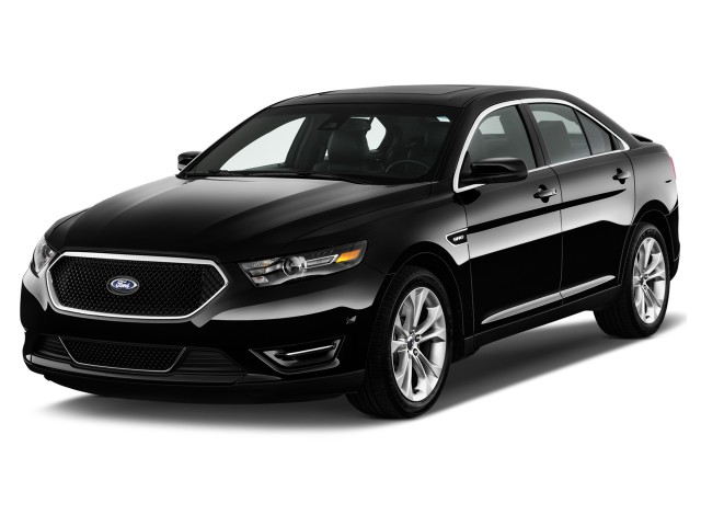 2016 Ford Taurus 4-door Sedan SHO AWD Angular Front Exterior View