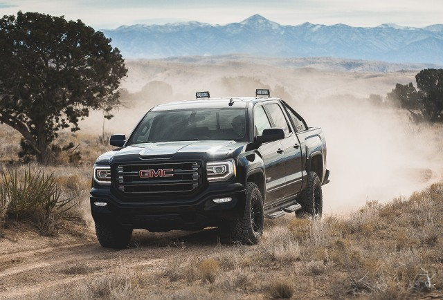 2016 gmc sierra all terrain x special edition launched. Black Bedroom Furniture Sets. Home Design Ideas