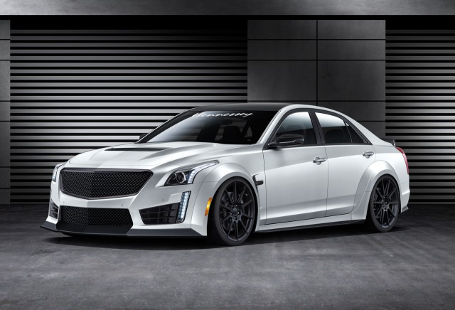2016 Hennessey HPE100 Twin Turbo Cadillac CTS-V