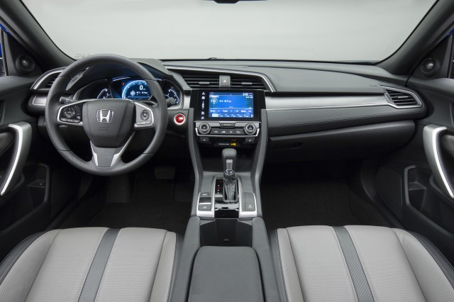 2016 honda civic coupe gas mileage equals sedan 39 s 35 mpg. Black Bedroom Furniture Sets. Home Design Ideas