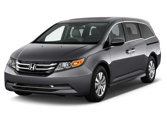 2016 Honda Odyssey 5dr EX-L Angular Front Exterior View