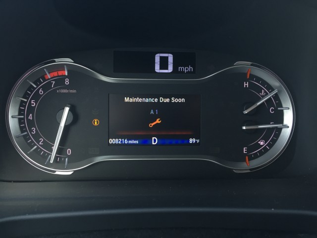 2016 Honda Pilot Touring long-term road test, first service stop