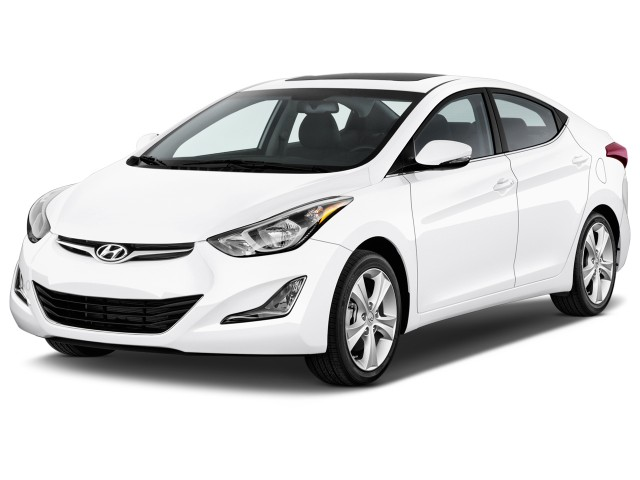 2016 Hyundai Elantra 4-door Sedan Auto Value Edition (Alabama Plant) Angular Front Exterior View