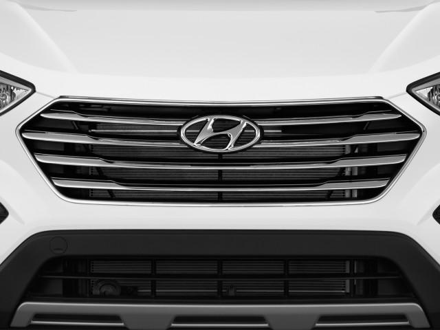 Grille 2016 Hyundai Santa Fe Fwd 4 Door Limited