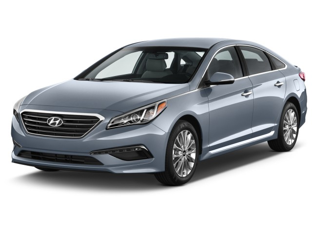 2016 Hyundai Sonata 4-door Sedan 2.4L Limited Angular Front Exterior View