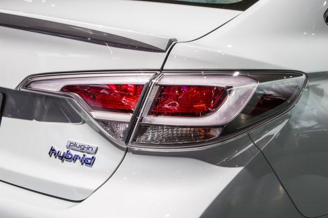 2016 Hyundai Sonata Plug In Hybrid Live Photos 2017 Detroit Auto Show