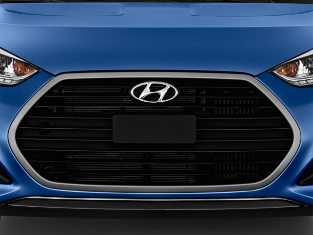 Grille - 2016 Hyundai Veloster 3dr Coupe Man Turbo Rally Edition