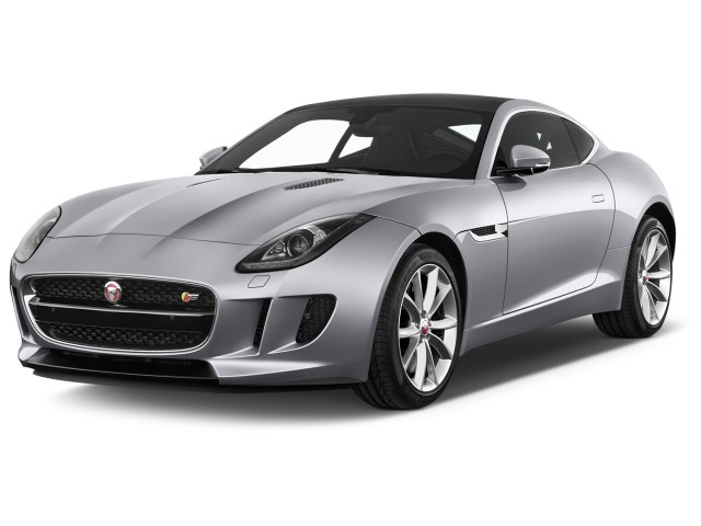 2016 Jaguar F Type 2 Door Coupe Auto Rwd Angular Front Exterior View
