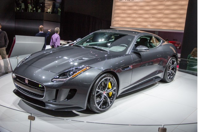 2016 Jaguar F-Type R Coupe All Wheel Drive, 2014 Los Angeles Auto Show