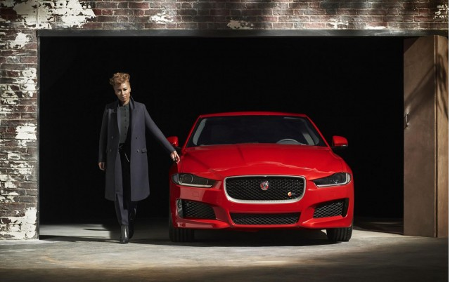2016 Jaguar XE sedan - first official photograph from company