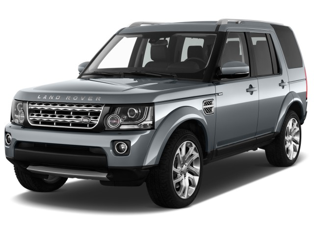 2016 Land Rover LR4 4WD 4-door HSE *Ltd Avail* Angular Front Exterior View
