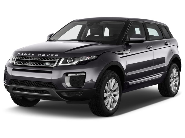 2016 Land Rover Range Rover Evoque 5dr HB HSE Angular Front Exterior View