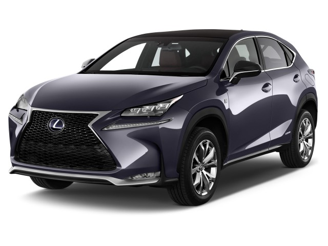 2016 Lexus Nx 300h Awd 4 Door Angular Front Exterior View