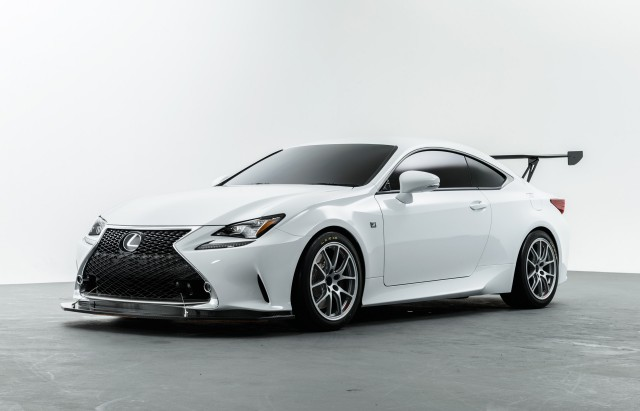 2016 Lexus RC race car