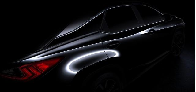 2016 Lexus RX teaser image