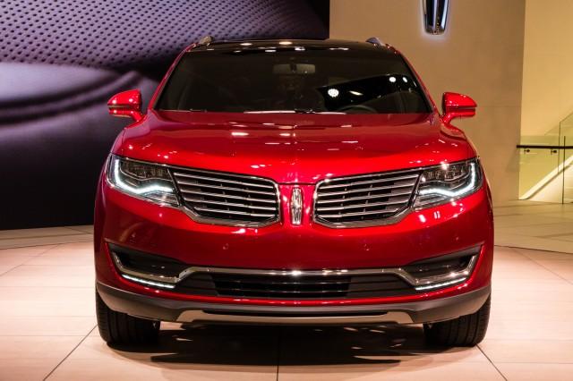 2016 Lincoln Mkx 2017 Detroit Auto Show