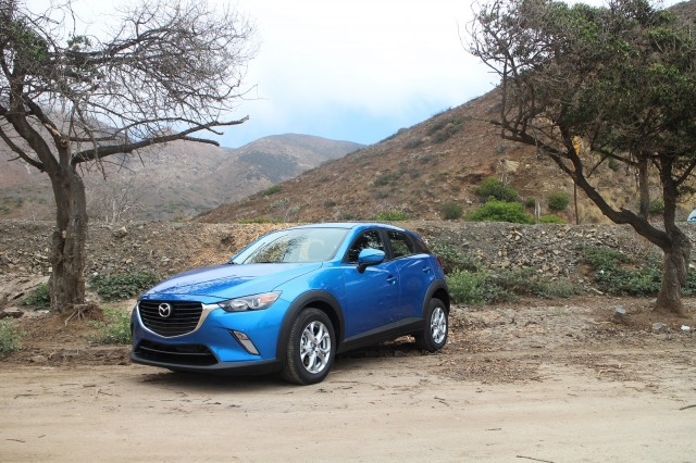 2016 Mazda CX-3, Malibu, California, July 2015