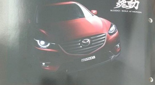 2016 Mazda CX-5 leaked via brochure scans (Image via Worldscoop forums)
