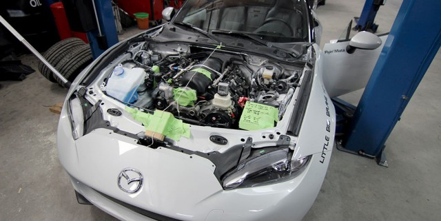 2016 Mazda MX-5 Miata V-8 conversion