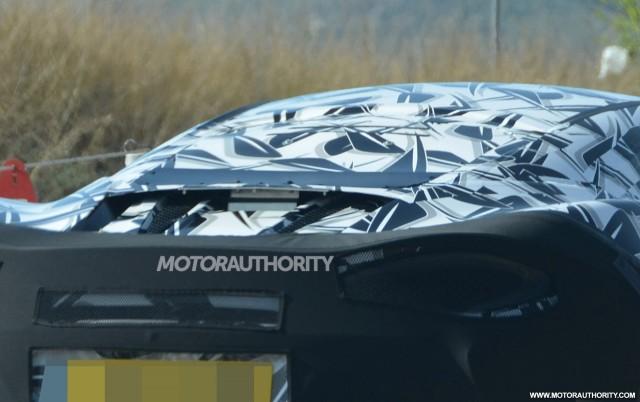2016 McLaren Sports Series spy shots - Image via S. Baldauf/SB-Medien