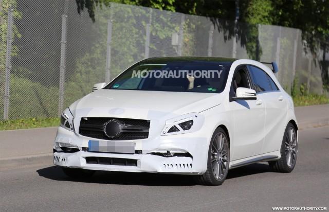 2016 Mercedes Amg A45 Spy Shots