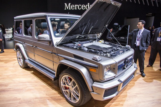 2016 Mercedes-AMG G65, 2015 New York Auto Show