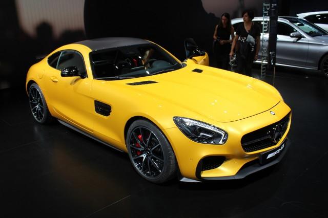 2016 Mercedes-AMG GT S  -  2014 Paris Auto Show