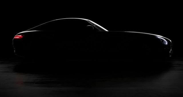 2016 Mercedes-AMG GT teaser