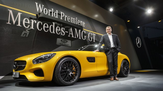 2016 Mercedes-Benz AMG GT world debut, Affalterbach, Germany, Sept 2014